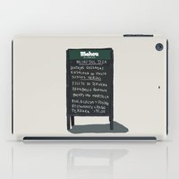 madrid iPad Cases featuring Madrid by qteln