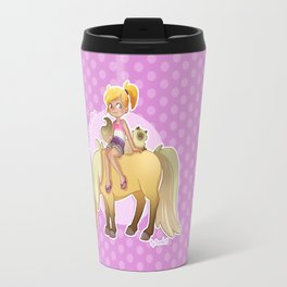 I'm a horse addict Travel Mug