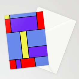 Abstract #482 Stationery Cards