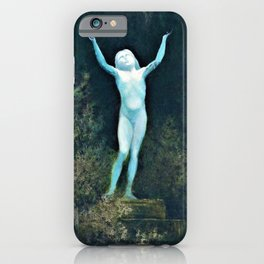 Karl Wilhelm Diefenbach - Apparition Or A Sidereal Body - Digital Remastered Edition iPhone Case