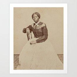 Harriet Tubman Vintage Photograph Art Print