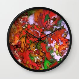 Paint machine Wall Clock