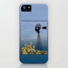 Wind Pump American Style Windmill iPhone Case