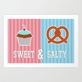 Sweet and Salty Art Print