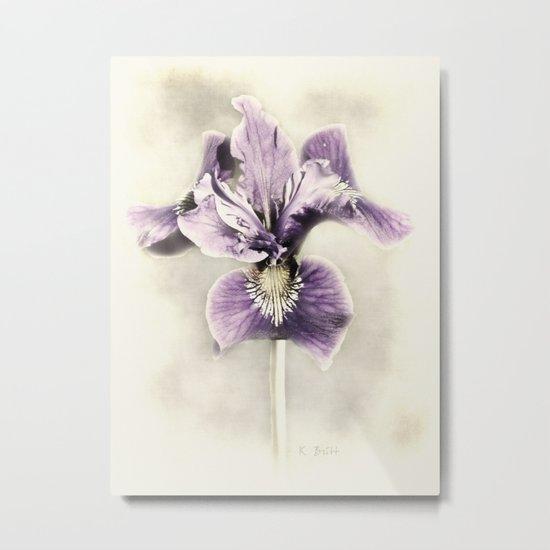 Opal Iris Metal Print