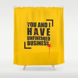 Kill Bill Minimal Poster 2.0 Shower Curtain