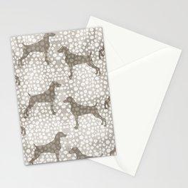 WEIMARANER SPOTS Stationery Cards