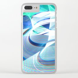 Smooth light art photography Clear iPhone Case