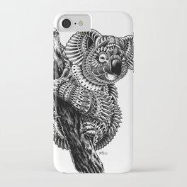 Ornate Koala iPhone Case