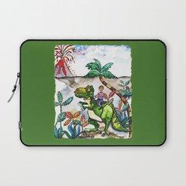 Dinosaur Rider Laptop Sleeve