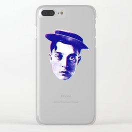 keaton Clear iPhone Case