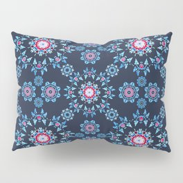 winter mandala Pillow Sham