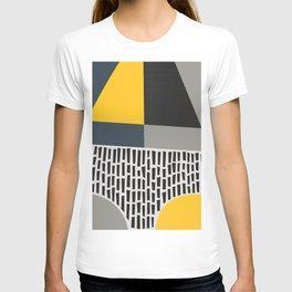 Umbrella Rain Abstract T-shirt