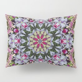 Summer leaves kaleidoscope Olbrich Botanical Gardens Pillow Sham