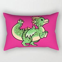 Precious Dragon Friend Rectangular Pillow