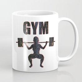 Gym Female Weightlifter Coffee Mug