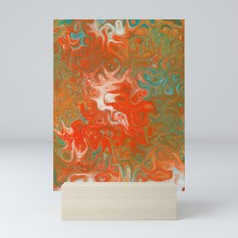 As Luck Would Have It, Abstract Art Mini Art Print