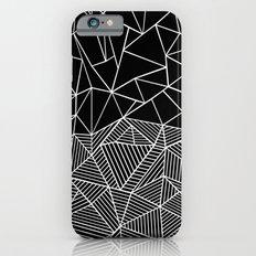 Ab Half and Half Black iPhone 6s Slim Case