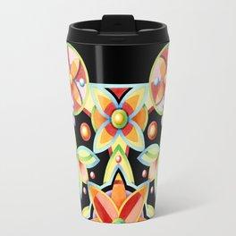 Suzani on black Travel Mug