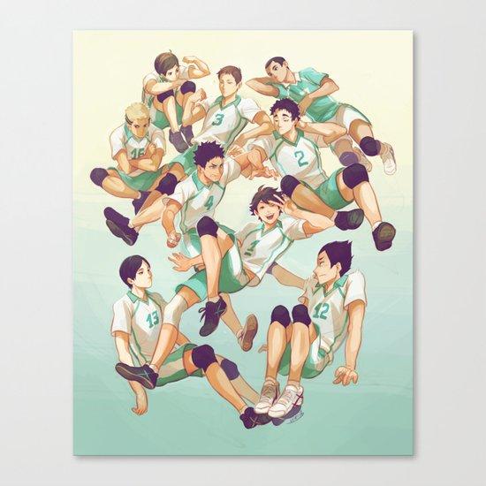 Aobajousai Canvas Print