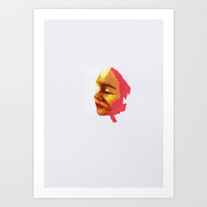 Petites têtes 13 Art Print