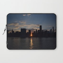 Manhattan From Queens Laptop Sleeve
