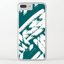 Pattern Vb Clear iPhone Case