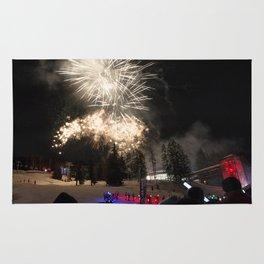 Fireworks Les Arcs 2017 Rug
