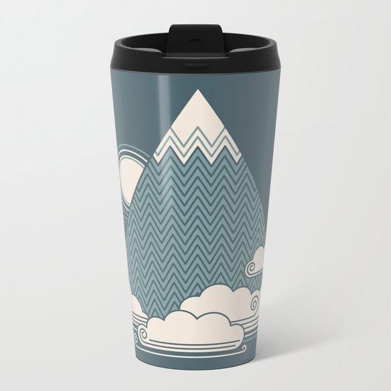 Cloud Mountain Metal Travel Mug