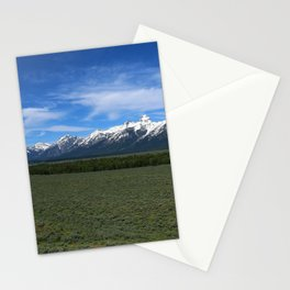 Beautiful Wyoming Landscape Stationery Cards