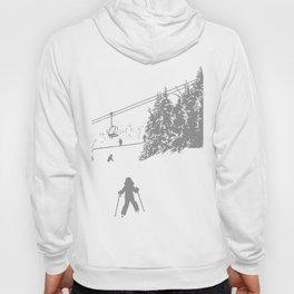 Little Skier - Grey Hoody