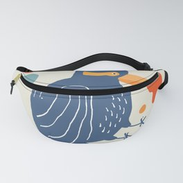 Quirky Laughing Kookaburra Fanny Pack