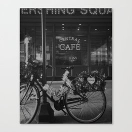 Central Cafe Canvas Print