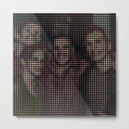 Social Surface - Friendship Metal Print