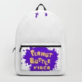 Peanut Butter Vibes Backpack