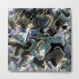Abstraction , fish , sea Metal Print
