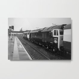 Westbury Logs Metal Print