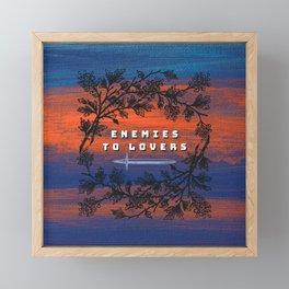 Enemies to Lovers Framed Mini Art Print
