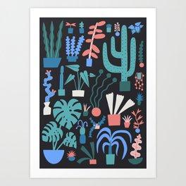 Plant Parent Paradise Art Print