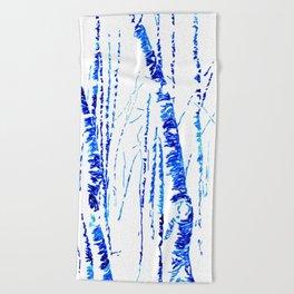 trees III Beach Towel