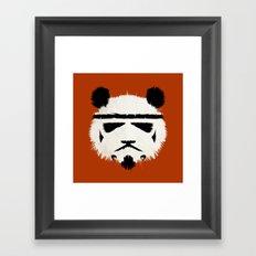 Panda Trooper Framed Art Print