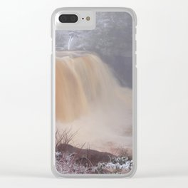 Winter at Blackwater Falls Clear iPhone Case