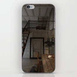 American House iPhone Skin