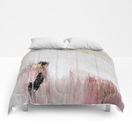 fdcfb6a225f276 Sunrise [2]: a bright, colorful abstract piece in pink, gold,