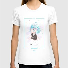 Fan Art Of Land Of The Lustrous - Diamond T-shirt