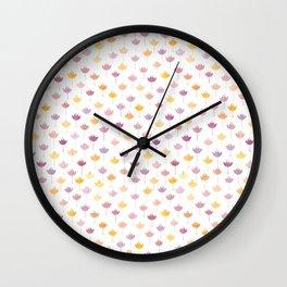 crocus1 Wall Clock
