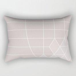 ice pink Rectangular Pillow