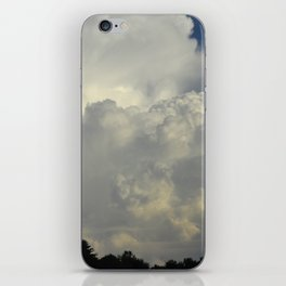 White Cloudscape iPhone Skin