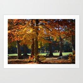 Autumn's Smile Art Print
