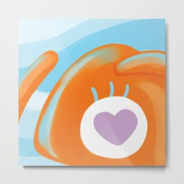 Squid Sees You Metal Print